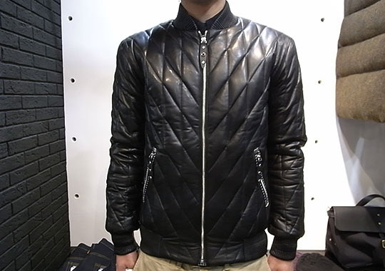 quilted leather jacket. nexus7-dia-quilted-leather-